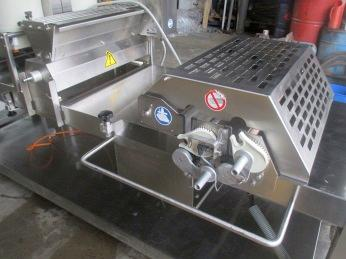 Machine after cleaning (bakery)
