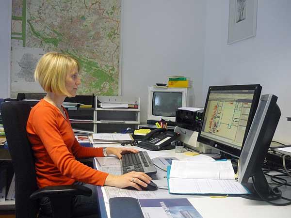 Lageplanerstellung am CAD-System