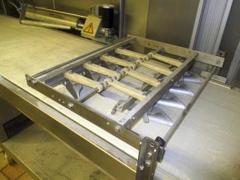 Maschine vor der Reinigung (Bäckerei)