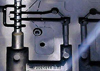 Reinigung Kernkasten Stahl