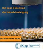Broschüre Kipp Umwelttechnik zum Thema Industriereinigung