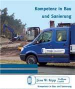 Broschüre Jens W. Kipp Tiefbau