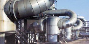 Reinigung Schwefelkondensator in der Gasgewinnung