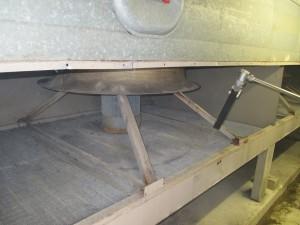 JetMaster reinigt Tischkühler