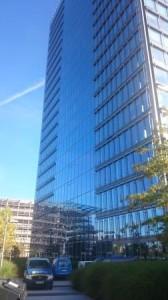 Kipp Umwelttechnik GmbH beim Reinigungseinsatz am WeserTower