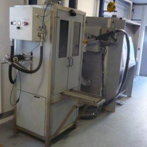 Vollautomatisierte Reinigungsanlage FilterMaster for trucks + Handarbeitskabine