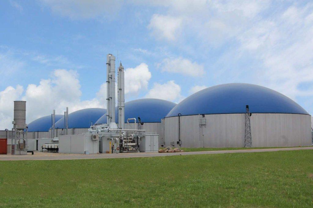 Arneburg Gasaufbereitung - Bildquelle: Nordmethan GmbH