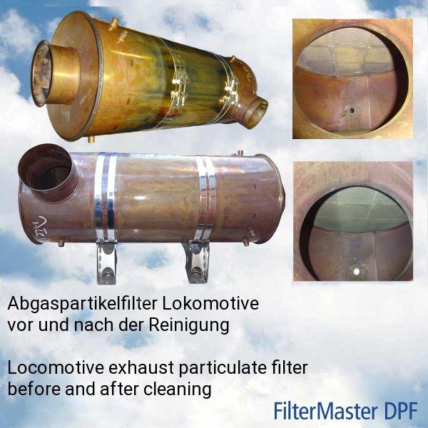 FilterMaster reinigt zuverlässig auch Großfilter ohne jede Demontage