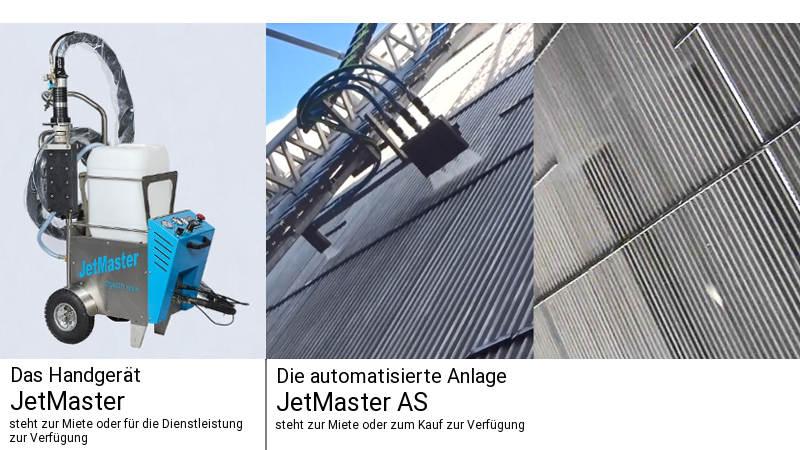 JetMaster manuelle und automatisierte Anlage für die Wärmetauscherreinigung