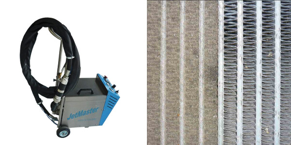 JetMaster - Reinigung Wärmetauscher und andere empfindliche Oberflächen